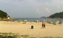 Big Wave Beach, Hong Kong